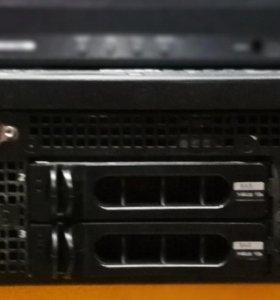 Сервер Dell PowerEdge 2950 +консоль ATEN