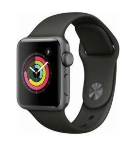 Срочно продам Новые Apple Watch 3 space grey 42mm