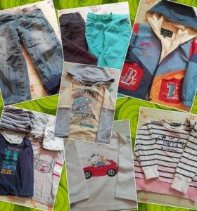 Вещи пакетом для мальчика 80 86