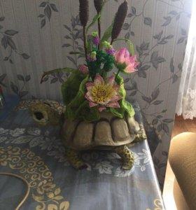 Черепаха скульптура