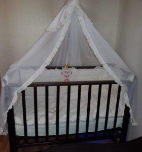 Детская кровать (маятник )