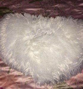 Подушка (сердечко)