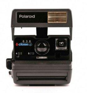 Polaroid 636 Closeup.
