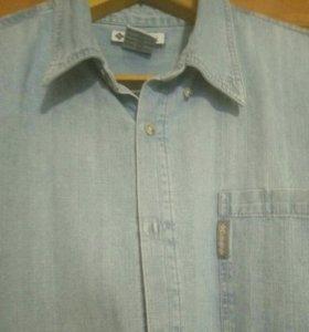 Джинсовая муж. рубашка Columbia 2XL