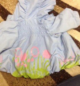 Куртка - ветровка 74-86