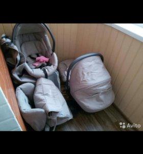Детская коляска Cam Dinamico 3 в 1 (c автокреслом)