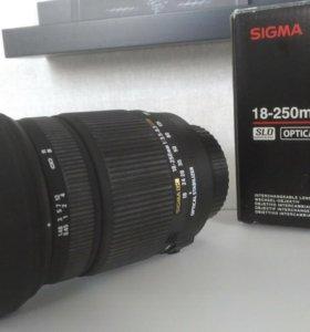 Объектив Sigma 18-250 mm (Canon)