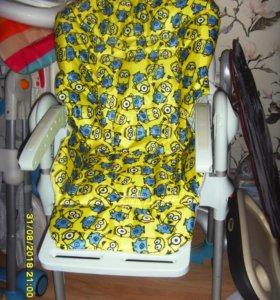 чехлы на стулья для кормления новые