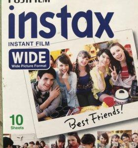 Пленка instax wide 10 штук