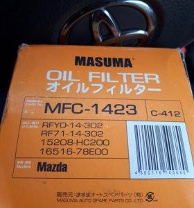 """НОВЫЕ масляные фильтры """"мasuma"""" Mfc-1423"""