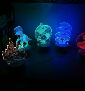 Ночник, 3D лампа