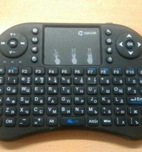 Беспроводная мини-клавиатура Vontar i8 с тачпадом