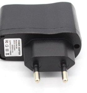 Зарядка для телефонов и устройств 220V/5V/1A 1usb