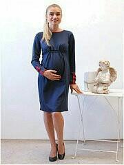 Платье для беременных весна - осень.