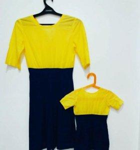 Продам платья в стиле family look