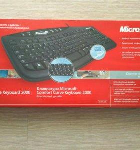 Клавиатура Microsoft USB-подключение
