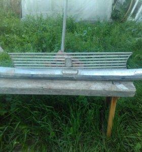 Задний бампер и решётка передняя для копейки.