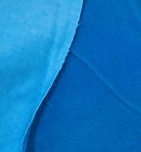 Кусок лоскут ткань бархат костюм хлопок 600р=1м