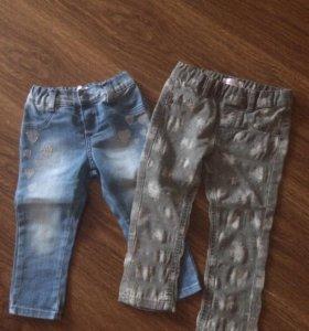 Новые! Укороченные джинсы для девочки!