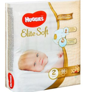 Huggies Elite Soft 2 88шт