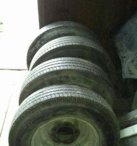 Шины и диски ГАЗ-24, ГАЗ-2410