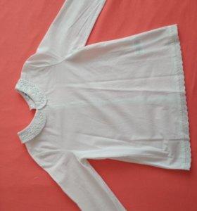 Новая блуза х/б для девочек