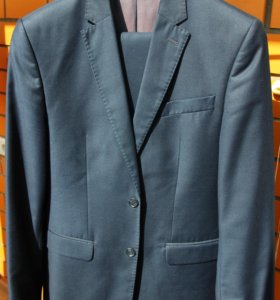 Костюм мужской темно-синий BROSWIL.