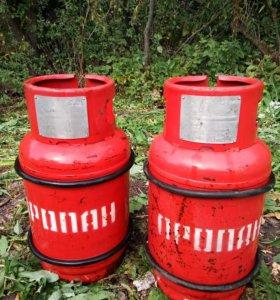 Баллоны пропановые плита газовая