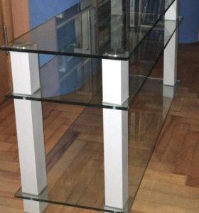 Тумба стеклянная