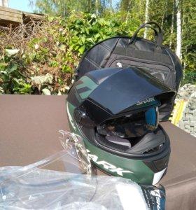Шлем мотоциклетный shark размер L
