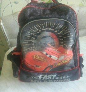 Ортопедический рюкзак Дисней Тачки