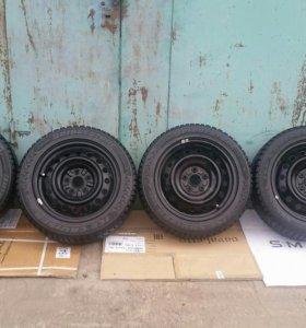 Штампованные диски Toyota r16 5x114.3 комплект
