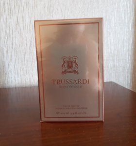 Мужской парфюм Trussardi Scent of Gold