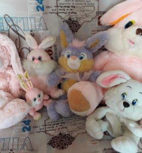 Мягкие игрушки Семейство зайцевых