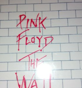 CD Pink Floyd' 1979 - The Wall, Made in the EU.