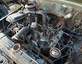 Двигатель на ЗИЛ - 130