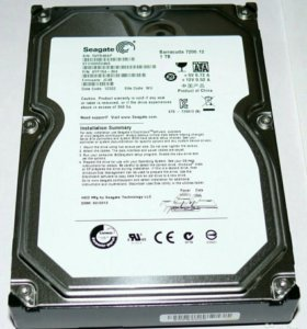 Жесткий диск Seagate Barracuda 7200.12 1Тб