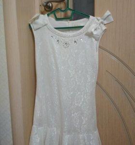 Платье для девочки лет 10-12