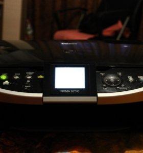 Принтер canon pixma MP500