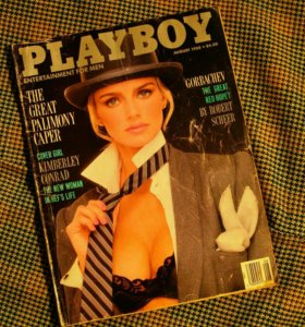 Журнал PlayBoy, USA, August, 1988.