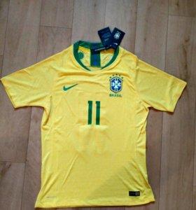 игровая футболка nike сборной Бразилии