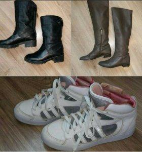 Сапоги кроссовки