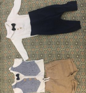 2 детских костюма 56р H&M