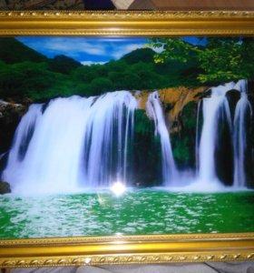 Музыкальный водопад
