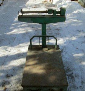 Весы механические 500 кг