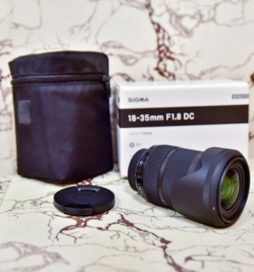 Sigma 18-35mm f/1.8, USB Dock UD-01 Nikon F