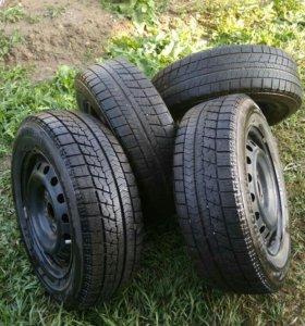 Зимние шины с дисками R15