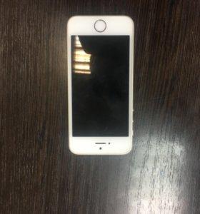 iPhone SE голд