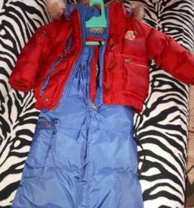 Зимний костюм 98р-р