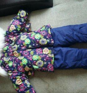 Зимний костюм новый Reimo